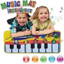 US Kid Baby Musical Music Piano Play Mat Development Animal Educational Toys NEW