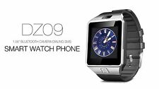 DZ09 SMART Watch Phone For Android IOS Bluetooth, Camera, SIM Card n Memory Slot