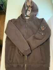 One Industries Brown Hooded Jacket Size L