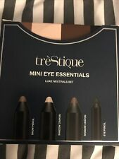 Trestique Mini Eye Essentials set of 4 Luxe Neutral Shades 4 Piece Set New Box