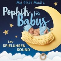MY FIRST MUSIC - POPHITS FÜR BABYS IM SPIELUHRENSOUND LAMP UND LEUTE 2 CD NEU