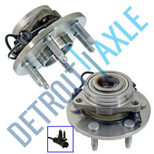 2 Front Wheel Bearing & Hub Assembly Cadillac Escalade Chevy Avalanche 4x4 6Lug