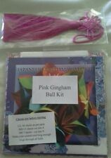 Japanese kusudama ball paper craft kit BNIB pink purple blue green