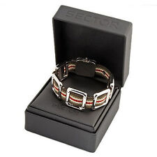 Sector Jewels Collection. Adventure Mens Surgical Steel Bracelet RRP£150 BNIB#1