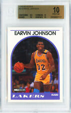1989 HOOPS #270 EARVIN MAGIC JOHNSON Card Perfect BGS 10 Pristine POP 1 LAKERS