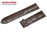 Dark Brown Fits ROTARY Watch Strap Band Genuine Leather 18-24mm For Buckle Clasp