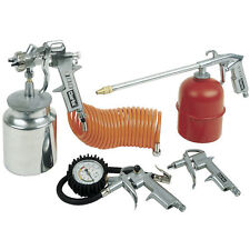 Clarke - 5 Piece Air Tool Kit, Tyre, Blowgun, Hose, Spray gun, KIT1000