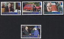 FALKLAND ISLANDS: 2013  Sir Rex Hunt Commemoration  set SG1260-3 MNH