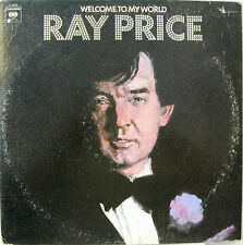 "RAY PRICE  ""WELCOME TO MY WORLD""  2 lp USA  near mint"