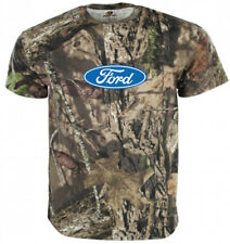 Men's Large - Ford Logo Tee Gifts for Men Mossy Oak T-shirt
