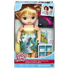 Baby Alive Ready For School Baby Dolls Blonde With Brush For Kids Ages 3 and Up