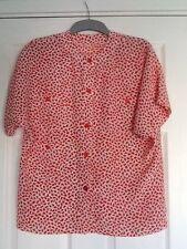 Unbranded Geometric Blouse Waist Length Women's Tops & Shirts