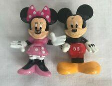 2009 Disney MATTEL Mickey und Minnie Mouse Mini Figuren