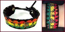 Modeschmuck-Armbänder im Surfer-Stil aus Stoff