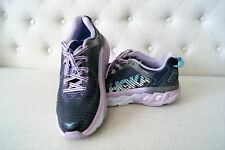 Barely Used Hoka One One Womens Arahi US 8.5 Blue Purple White Running Shoes