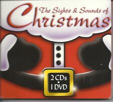 THE SIGHTS AND SOUNDS OF CHRISTMAS 2 MUSUC CD'S AND 1 DVD HOLIDAY COMBO SET