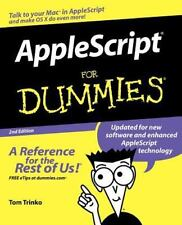 AppleScript for Dummies (Paperback or Softback)