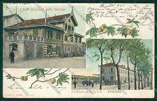 Varese Gallarate Stazione cartolina EE6480