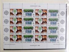 TIMBRES DE GRECE : 1986 YVERT N° 1611/12** NEUF SANS CHARNIERE - EUROPA - TBE