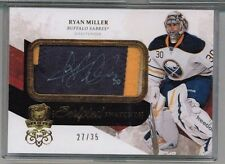 10/11 Upper Deck The Cup Ryan Miller Scripted Swatches Patch Auto #'ed 27/35