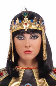 Brand New Egyptian Queen Cleopatra Peacock Headpiece