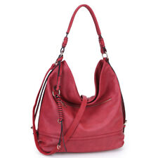 New Dasein Womens Handbags Soft Faux Leather Water Wash Hobo Shoulder Bag Purse