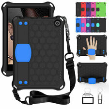 For Amazon Fire HD 8 & 8 Plus 2020 10th Gen Tablet Stand Strap Foam Case Cover