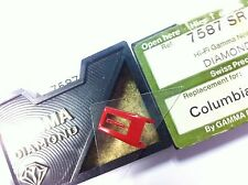 +PUNTINA GIRADISCHI VINILE GAMMA DIAMOND 7587 SR TESTINA CUBO PHILIPS COLUMBIA 9