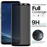 Samsung Galaxy S8 Plus genuine 100% Privacy Glass 10D 9H Screen Protector Guard