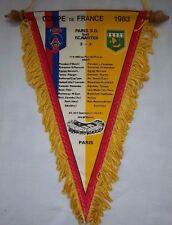 Orig.Wimpel  Frankreich Pokal  1982/83  FINALE  PARIS SG - FC NANTES  !!  SELTEN