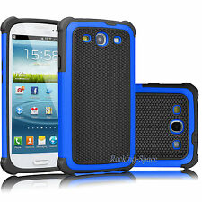 Hybrid Rugged Impact Rubber Hard Skin Case Cover For Samsung Galaxy S3 III i9300