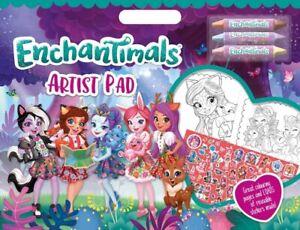 Enchantimals Colouring Set & Colouring Artist Pad - Free P&P
