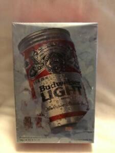 Vtg Hallmark Springbok Budweiser Bud Light Beer 100 Pieces Puzzle Unopened