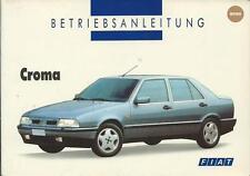 FIAT CROMA Betriebsanleitung 1994 Bedienungsanleitung Handbuch Bordbuch 154 BA