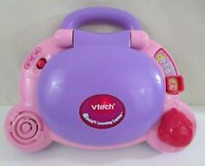 Vtech Baby's Learning Laptop Electronic Lights Pink / Purple