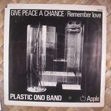 Beatles John Lennon Give Peace a Chance 45w/PS