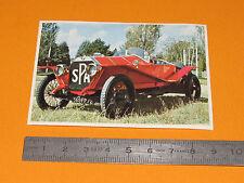 CHROMO CHOCOLAT POULAIN 1976 AUTO VOITURE CONNAISSANCES SPA 1912