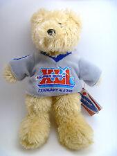 "Indianapolis Colts Super Bowl Xli Collectible Fuzzy Shirt 8"" Bear"
