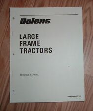 BOLENS LARGE FRAME TRACTOR SERVICE MANUAL GOOD