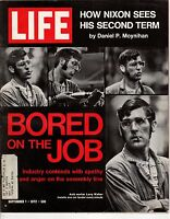 1972 Life September 1-Jill Kinmont skiing accident; Nixon is nominated; Shaft