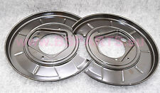 New BMW e34,e32  Rear Brake Disc Rotor Backing Protection Plate Left + Right Set
