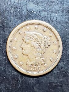 1856 Large Cent - US Coins