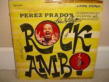 Perez Prado's - Rock-Ambo - Rare Original Press LP in Good Conditions - L1