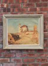 Beautiful Oil On Canvas Painting By French Artist Marcel Sahut. 1941. Signed