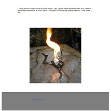 MINI RECHAUD A ESSENCE SOLIDE  -- WETFIRE STOVE   - ULTIMATE SURVIVAL