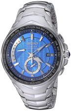 Seiko Men's Coutura Radio Sync Solar Chrono 100m Stainless Steel Watch SSG019