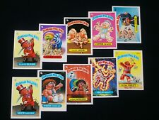 GARBAGE PAIL KIDS 1986 5th Series Extended Variation Set * + ** 134 Cards EX OS5