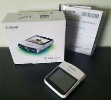 Canon VIXIA mini HD Camcorder - White *MINTY* RARE!