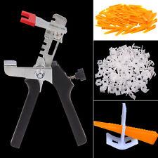 Système de Nivellement Kits Carrelage Sol mural Espaceur Wedges+Clips+ Pliers
