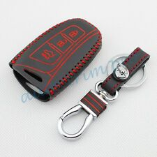 3 Buttons Key Case Chain Holder For Hyundai Santa Fe (DM) 2013-2016 Accessories